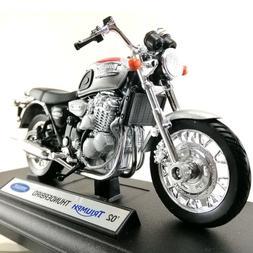 '02 Triumph Thunderbird Motorcycle Diecast Model Welly 1:18