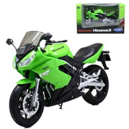 Welly 1:10 Kawasaki Ninja 650R Motorcycle Model Bike New in