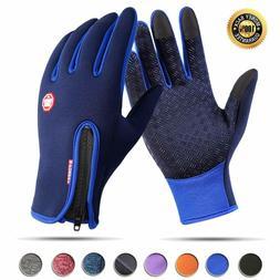 -10 ℃ Winter Thermal Ski Gloves Touchscreen Waterproof Sno