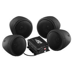 Boss Audio 1000w Bluetooth 4) Speakers+Amplifier Handlebar S