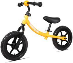 "JOYSTAR 12"" Kids Balance Bike for 1.5-5 Years Old Boys  Girl"