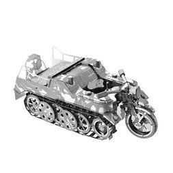 2018 3D Metal Nano Puzzle SdKfz 2 Kleines Kettenkraftrad Mot