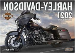 2021 Harley-Davidson Motorcycle Calendar 16 months w/ Free A