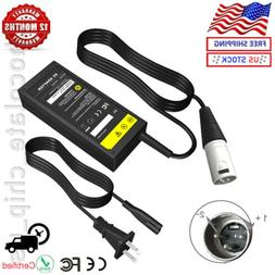 24V Charger XLR Plug Adapter For Electric Scooter Skip Bike