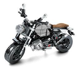 262PCS Motorcycle Bike BMW latte Technic MOC Building Blocks