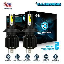 2X H4 9003 LED Headlight Bulb 2200W 330000LM Hi-Lo Car Motor