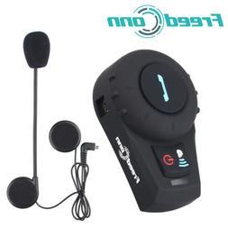 500M Bluetooth Motorcycle Intercom Helmet Headset 2 Way Inte