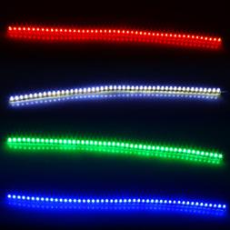 96 LED Light Strip Flexible Waterproof Strip Car Motorcycle