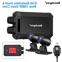 B1M 135°Wide Angle Sony IMX323 Dual Lens 1080P Motorcycle W