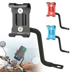 Aluminum Motorcycle Bicycle Bike Rearview Mirror Holder Moun