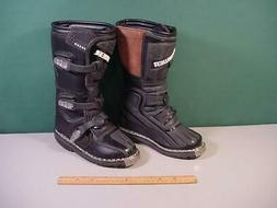 Answer Fazer Black Motocross Dirt Bike Motorcycle Boots Size