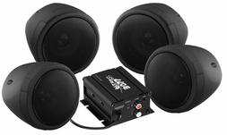 Audio 1000w Bluetooth 4) Speakers+Amplifier Handlebar System