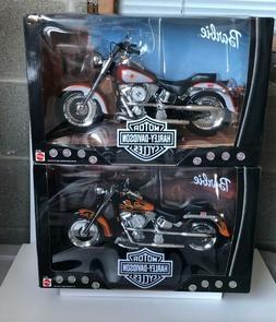 Barbie Harley Davidson Motorcycles: Fat Boy Bikes SOLD TOGET