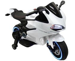 BEST KIDS RIDE ON LED BIKE With Hand Throttle and Foot Break