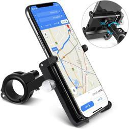 Bicycle Motorcycle Phone Mount Aluminum Alloy Bike Phone Hol