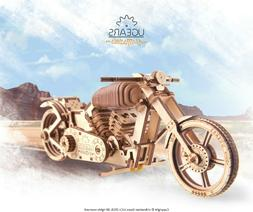 Ugears Bike Motorcycle VM-02 Mechanical Wooden Model -3D puz