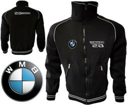 BMW R1250GS Fleece Jacket Polar Biker Jacke Coat Travel Blou