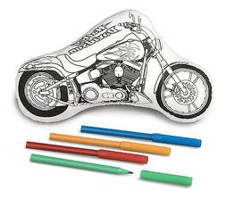 TOYS HOBBIES ART KID CHILD CRAFT HARLEY-DAVIDSON KIT COLOR *