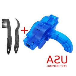 Cycling Bike Bicycle Chain Wheel Wash Cleaner Tool Brushes S