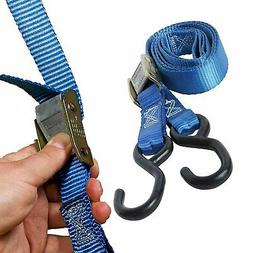 """Manufacturer Direct! 2 Motorcycle Tie-Down Cam Straps, 1"""" x"""