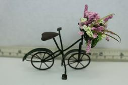 Doll House Miniature Beautiful Garden Bike