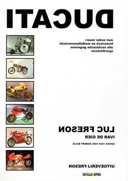 Ducati history motorcycle book 1924 -1998 NEW & SIGNED Luc F