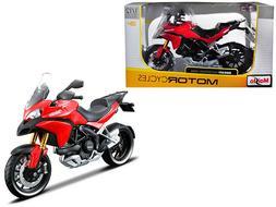 Ducati Multistrada 1200S Red 1/12 Motorcycle Diecast Model b