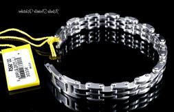 """Invicta Elements Stainless Steel 8.75"""" Motorcycle Chain Brac"""