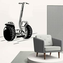 Exquisite Bike Vinyl Wallpaper Roll Furniture Decorative For