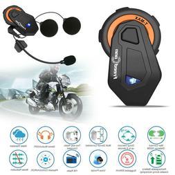 FreedConn T-MAX 1000m Bluetooth 4.1 Motorcycle Helmet Interc