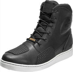 HARLEY-DAVIDSON FOOTWEAR Men's Holtman Black Leather Waterpr