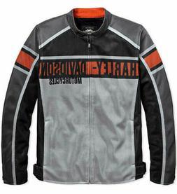 Harley-Davidson Mens Irogami Mesh Grey Functional Riding Jac