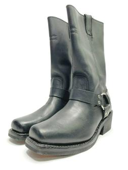 Harley Davidson Motorcycle Boots Womens Black Leather Hustin