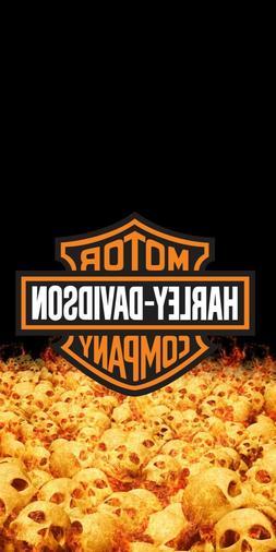 Harley Davidson Motorcycles Skulls Tailgate Cornhole Board G