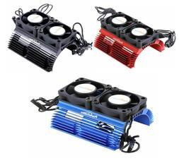 Powerhobby Heat Sink w Twin Turbo High Speed Cooling Fans 1/