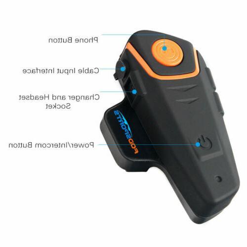 1000M Bluetooth Headset 2Way FM Radio