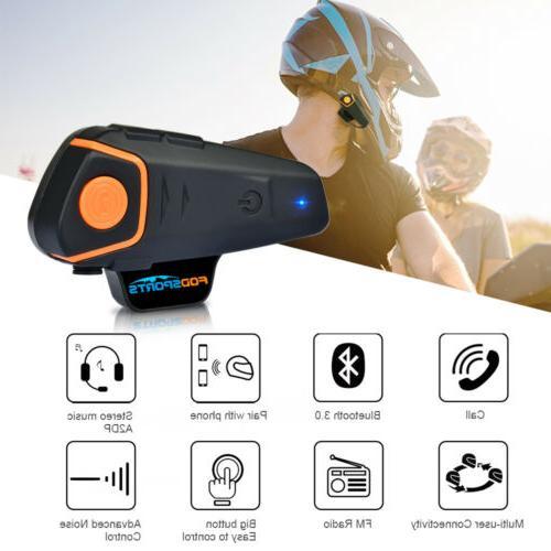 1000M Motorcycle Bluetooth 2Way Radio
