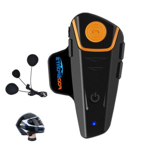 1000m motorcycle helmet headset bluetooth intercom headset