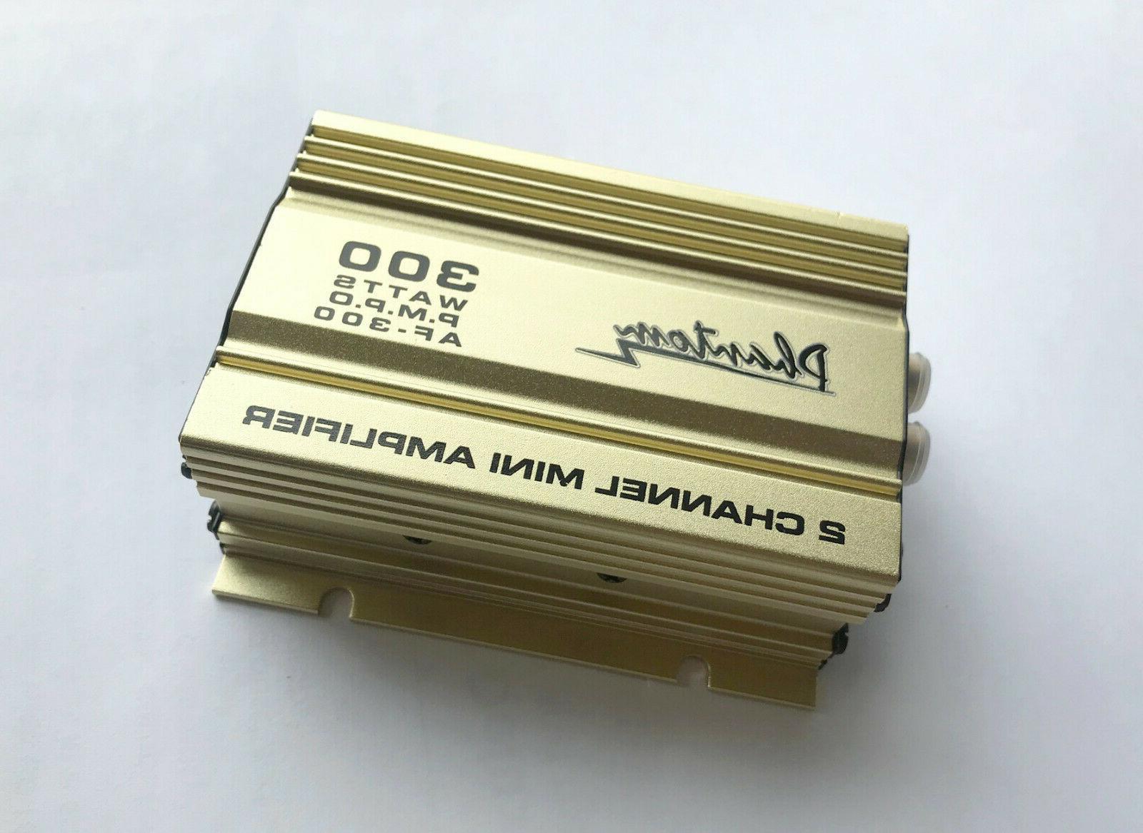 2 channel 300 watts mini amplifier