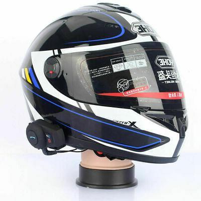 2pc Freedconn Intercom Motorcycle Helmet Headset