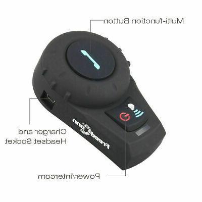 2pc 2Way Radio Intercom Headset Interphone
