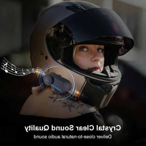 Freedconn Intercom Motorcycle Interphone FM