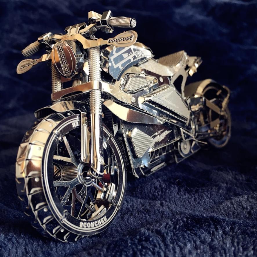 3d metal puzzle vengeance motorcycle collection puzzle