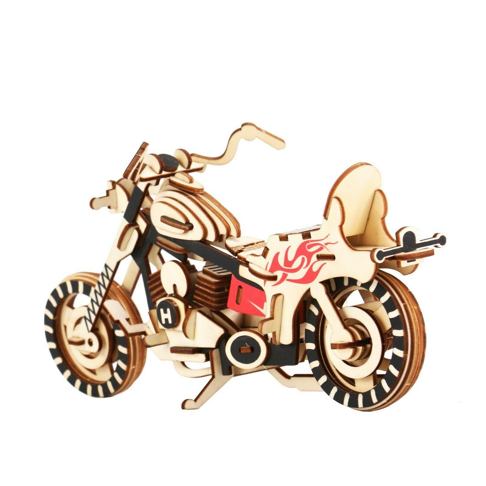 3D Wooden Model Toy Great for &