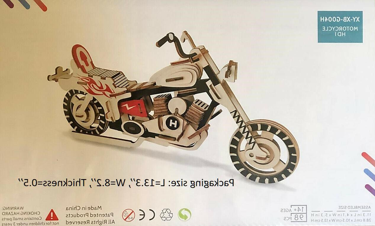 3D Puzzle Motorcycle Model Great &