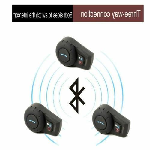 Freedconn Motorcycle BT Helmet Bluetooth 2Way