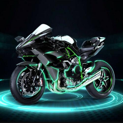12x Motorcycle 120 Neon Lights