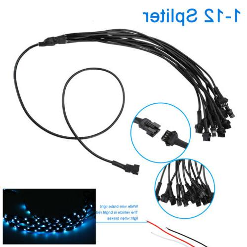 12x Motorcycle 120 LED Underglow Underbody System Neon Lights