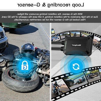B1M 135°Wide Angle IMX323 1080P Motorcycle Camera