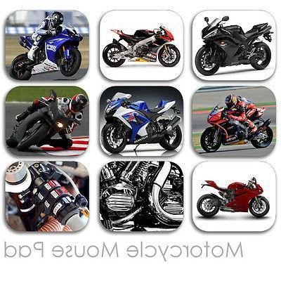 MOTORCYCLE CUSTOM MOUSE PAD SPORT BIKE FRIENDS MOUSEPAD